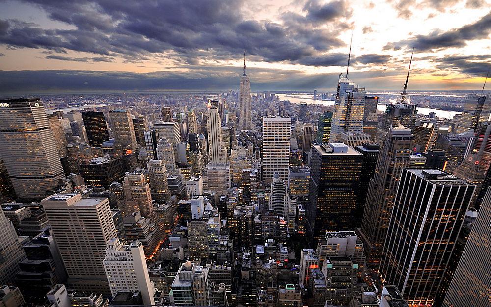 紐約世貿中心景色